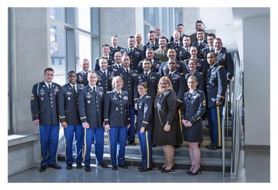 The 2017 Indiana University - Institute for Defense & Business Strategic Studies Fellows Program (IU-IDB SSFP) graduates.