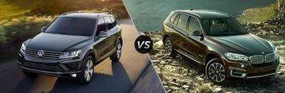 New Century Volkswagen puts 2017 Volkswagen Touareg and 2017 BMW X5 head-to-head in new landing page