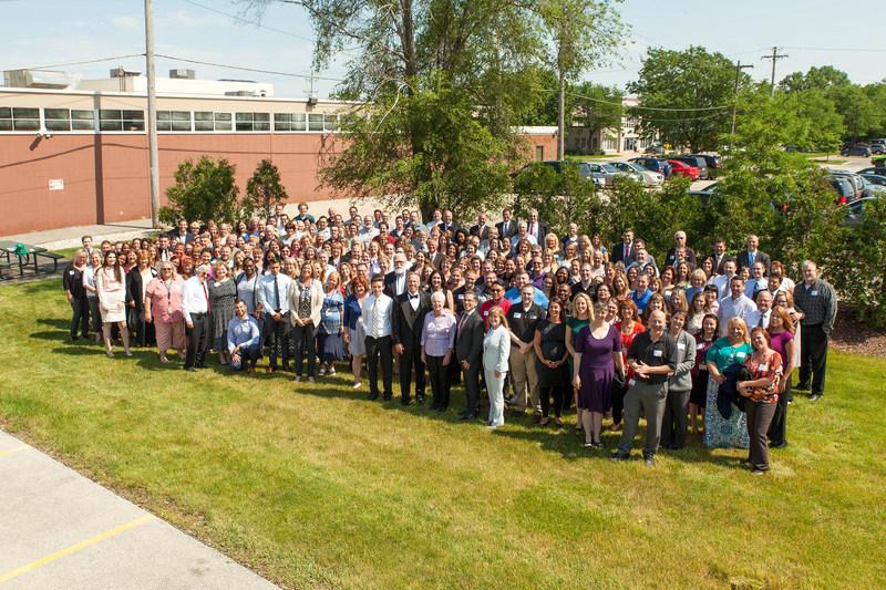 Henry Schein celebrates 20th anniversary since Sullivan Dental merger at its West Allis, WI-based dental headquarters.