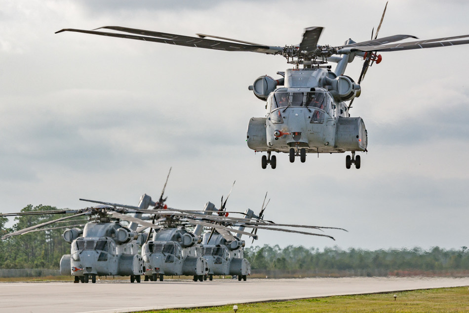 Spirit AeroSystems today announced it has started assembly of the fifth System Demonstration Test Article CH-53K King Stallion heavy-lift helicopter for the U.S. Marine Corps at Spirit's Wichita, Kan., facility.
