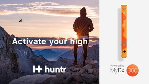 I+huntr Brand Powered by MyDx360 (PRNewsfoto/MyDx, Inc.)