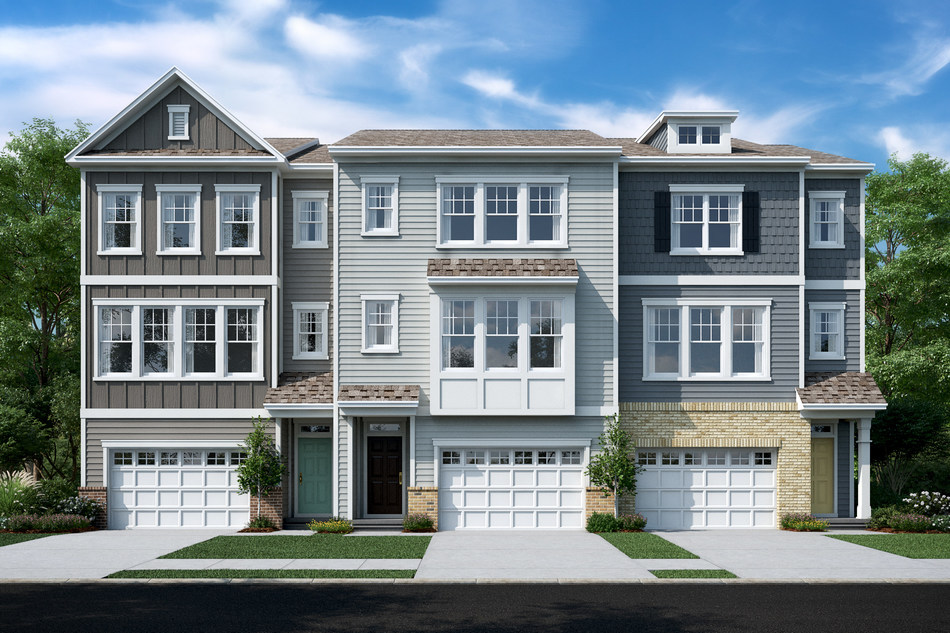 Salem Creek offers a central location and thoughtful townhome designs ranging from 1,587 to 2,311 square feet, with two to four bedrooms and two-and-a-half to three baths. The public is invited to tour the new model this weekend.