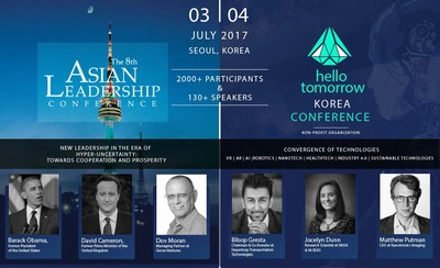 World Thought-Leaders Gather at 2017 Hello Tomorrow Korea x Asian Leadership Conference, Seoul