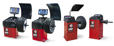 Rotary introduces a full line of tough and reliable professional wheel balancers. From the sophisticated R180 Pro 3D Auto Wheel Balancer (left) with automatic wheel dimension sonar and laser rim profile scanner to the manual R122 Hand Spin Wheel Balancer, Rotary has a balancer to meet any shop's budget and business volume.