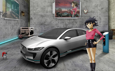 JAGUAR LAND ROVER AND GORILLAZ SEEK NEW ENGINEERING TALENT VIA ALTERNATE REALITY (PRNewsfoto/Jaguar Land Rover)