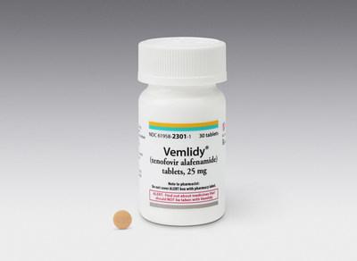 VEMLIDY(MC) (ténofovir alafénamide) de Gilead est approuvé au Canada pour le traitement d'une infection chronique par le virus de l'hépatite B (Groupe CNW/Gilead Sciences, Inc.)