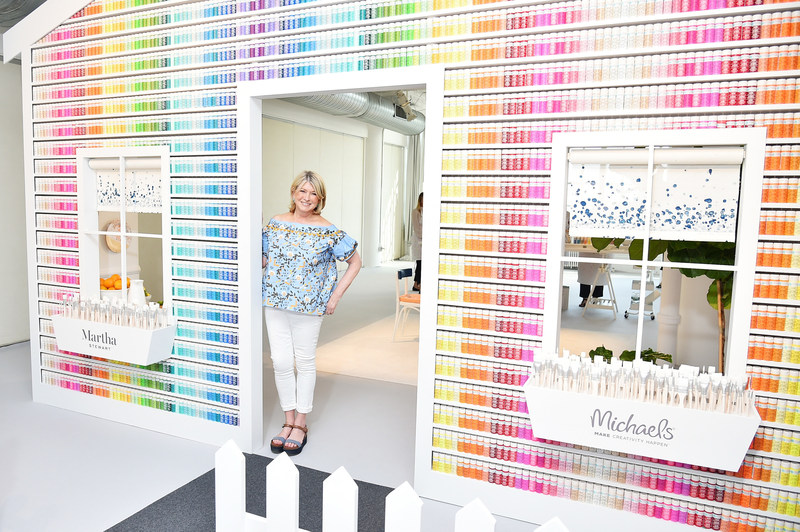 Michaels adds more than 800 new products to craft paint assortment including expanded, exclusive Martha Stewart Crafts collection with new paints and décor tools.