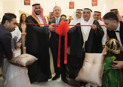 Paris Gallery Opens in Al Hamra Mall, Riyadh. A signature shopping experience (PRNewsfoto/The Paris Gallery Group)