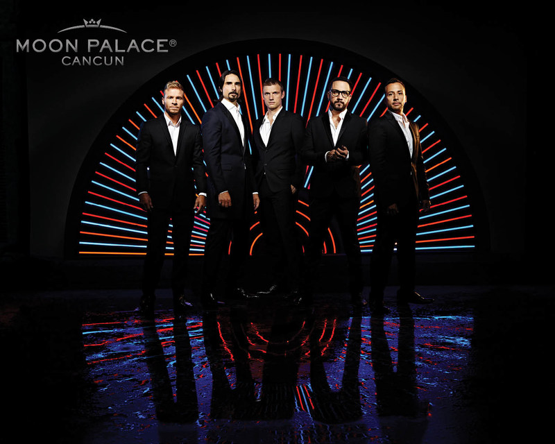 "Their first international show since their Las Vegas residency, ""Backstreet Boys: Larger Than Life"" will close out 2017 with Palace Resorts at Cancun's entertainment destination, Moon Palace Cancun, this December."