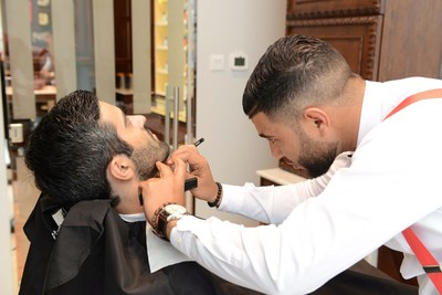 The Art of Shaving Barber Spa (PRNewsfoto/The Paris Gallery)