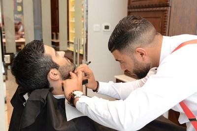 The Art of Shaving Barber Spa (PRNewsfoto/The Paris Gallery)