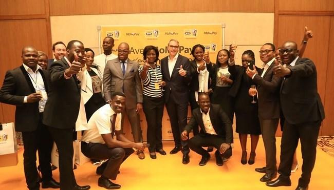 MTN MoMoPay launch event in Cotonou, Benin.