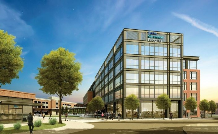 simmons bedding. serta simmons bedding to consolidate business in single headquarters location
