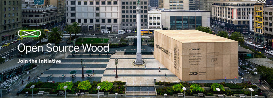 Metsa Wood launches 'Open Source Wood' (PRNewsfoto/Metsa Wood)