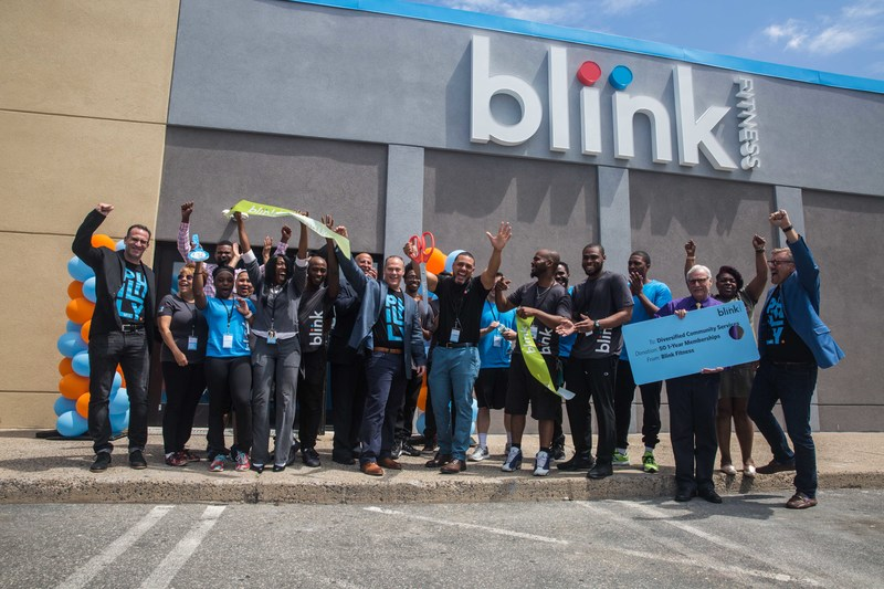 Blink Fitness today announced the grand openings of its first two locations in Philadelphia, PA. (Pictured: Blink South Philly in Whitman Plaza)