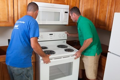 For the 18th year, Whirlpool continues to provide a new range and refrigerator for every new Habitat for Humanity home in the U.S. -- helping families achieve decent and affordable housing.