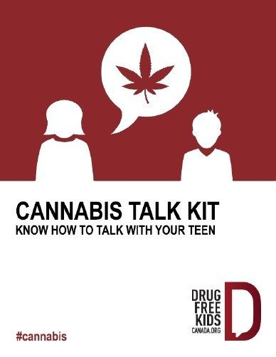 Drug Free Kids Canada launches national campaign to help parents talk to kids about cannabis (CNW Group/Drug Free Kids Canada)