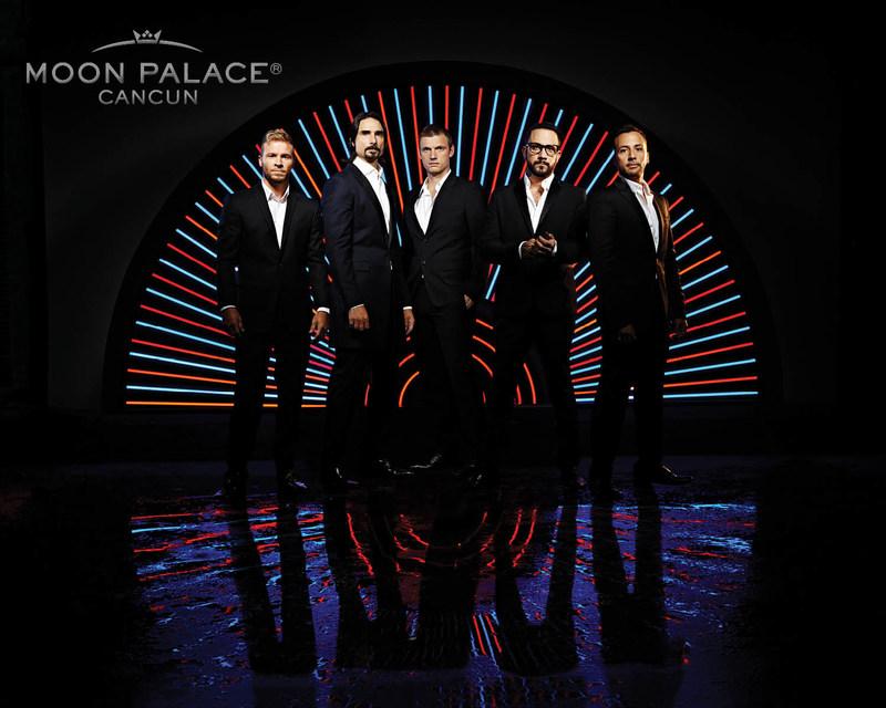 """Este diciembre, con la gira """"Backstreet Boys: Larger Than Life"""", el grupo tendrá su primera presentación internacional después de haber sido espectáculo residente en Las Vegas y cerrará el 2017 en el destino predilecto de quienes buscan diversión con Palace Resorts en Cancún: el Moon Palace Cancún."""