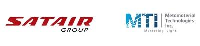 Logos: Satair Group and Metamaterial Technologies Inc. (CNW Group/Metamaterial Technologies Inc.)