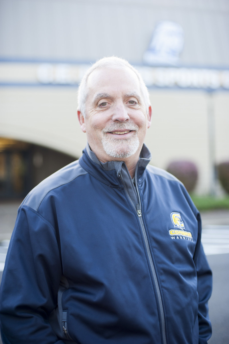 Athletic Director Greg Eide's leadership is one of the key factors behind Corban's athletic success this year. In recognition of his work, he was named Athletic Director of the Year by the Cascade Collegiate Conference (CCC).