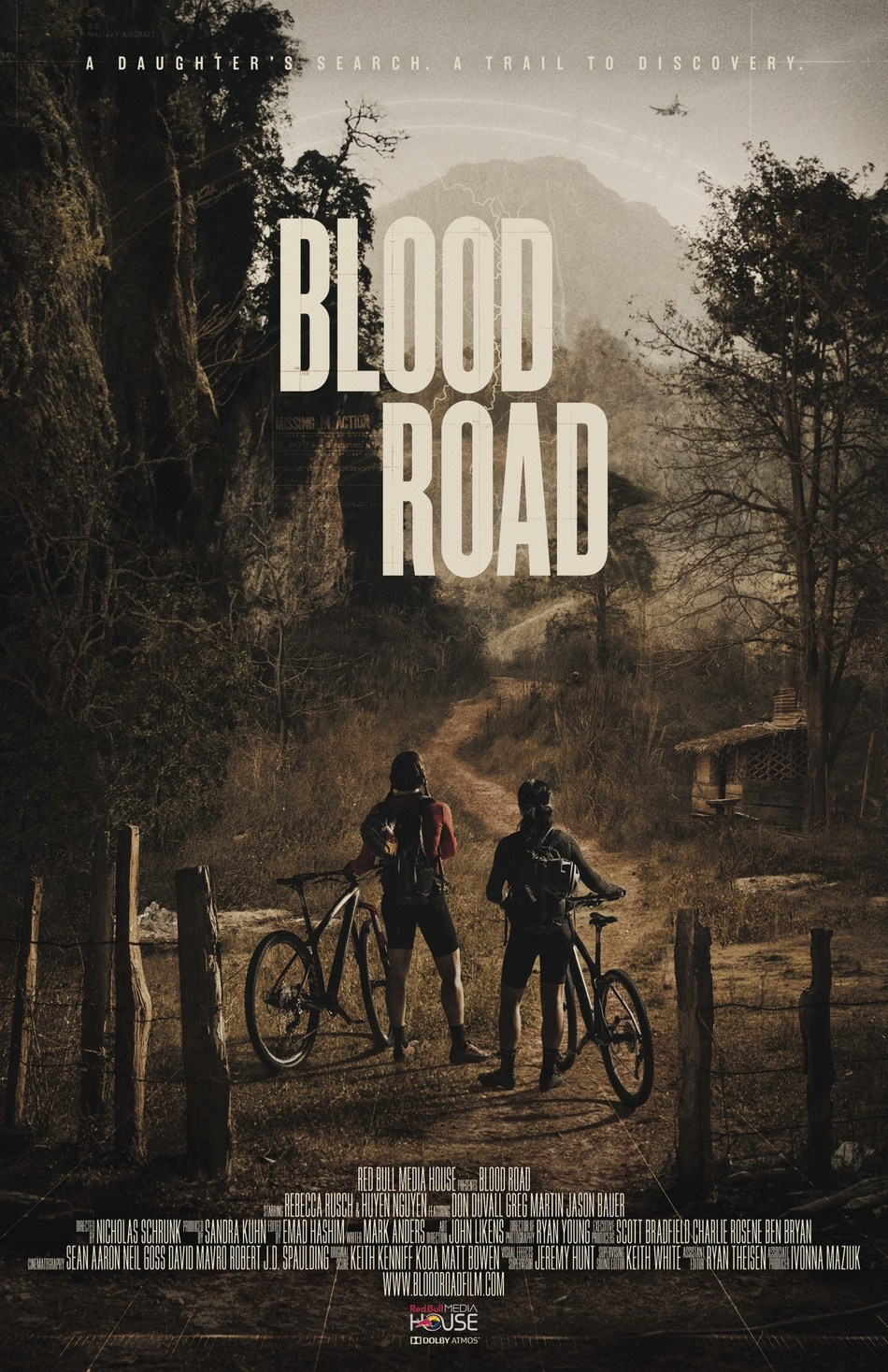 """Award-winning documentary """"Blood Road"""" from Red Bull Media House comes out worldwide today. The film captures endurance athlete Rebecca Rusch's 1,200 mile journey on the Ho Chi Minh Trail in search of the place where her father's plane crashed during the Vietnam War. Learn more at bloodroadfilm.com."""