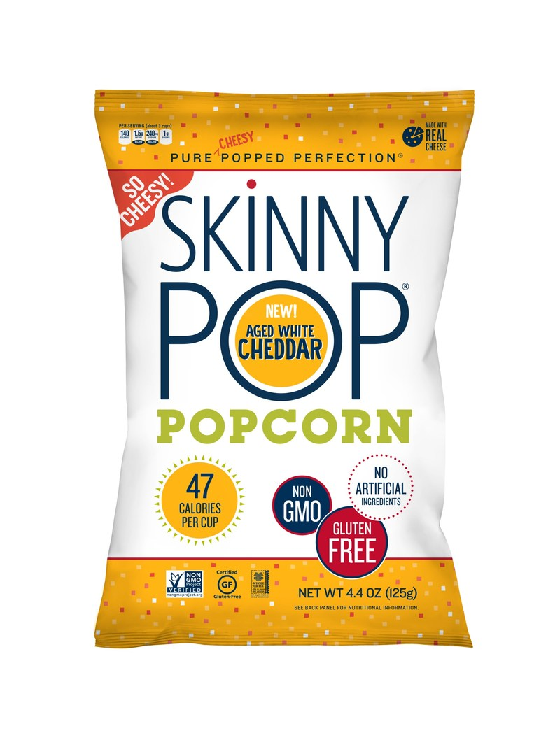 SkinnyPop Real Cheese Aged White Cheddar