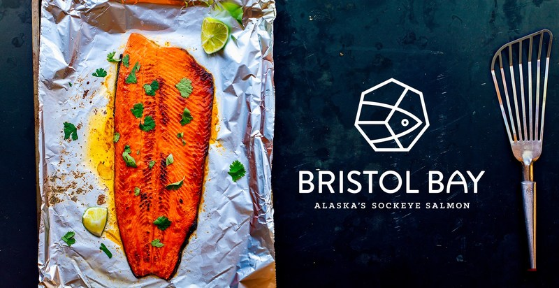 Hot honey broiled Bristol Bay sockeye salmon, drizzled with Sriracha honey butter. For this recipe, and other delicious ideas for preparing Bristol Bay sockeye salmon, visit https://bristolbaysockeye.org/.