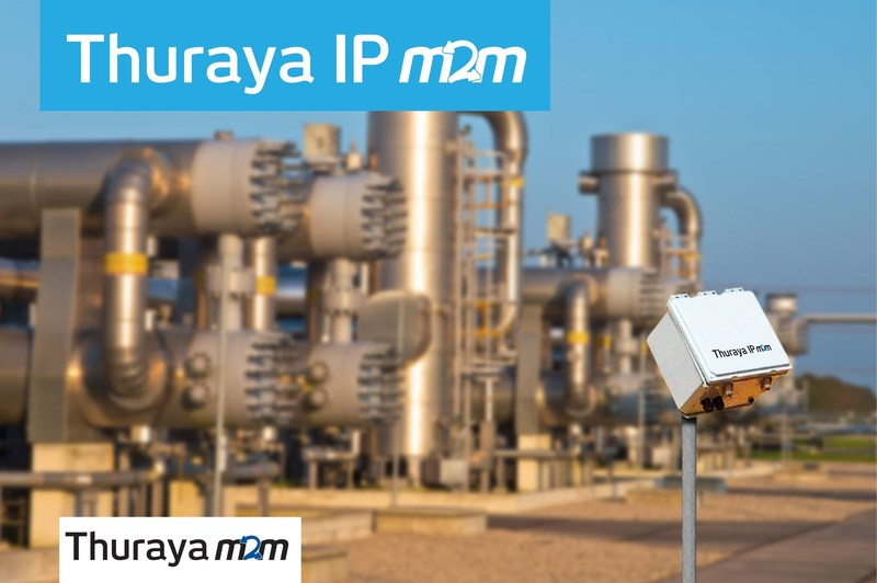 Thuraya IP M2M meets the market demand for IoT connectivity even beyond traditional communications. IP M2M provides reliable, cost-effective connectivity for remote assets and operations that require the collection of higher volumes of data from remote and industrial sites. (PRNewsfoto/Thuraya Telecommunications Compa)