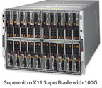 New Supermicro X11 SuperBlade® Boosts I/O Performance Featuring Intel® Omni-Path Fabric