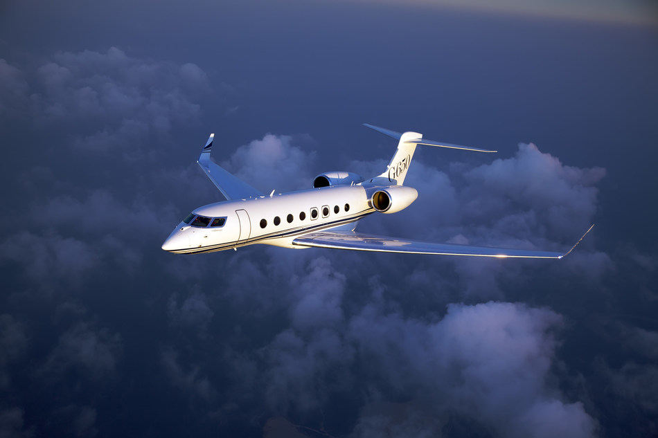 "The G650 fleet ""called home"" and wirelessly sent data from all seven continents so far this year."