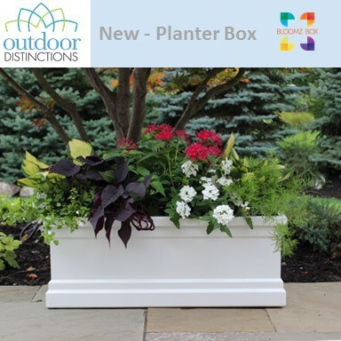 Outdoor Distinctions LLC, launches a new line of planter boxes.