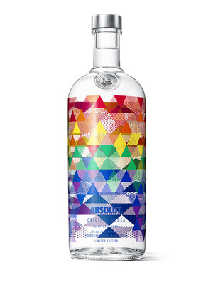 Absolut celebrates Pride month with the relaunch of Absolut Mix limited edition bottle (CNW Group/Corby Spirit and Wine Communications)