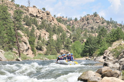 The Arkansas River in central Colorado is the country's number-one whitewater rafting destination for good reason, according to the Arkansas River Outfitters Association.