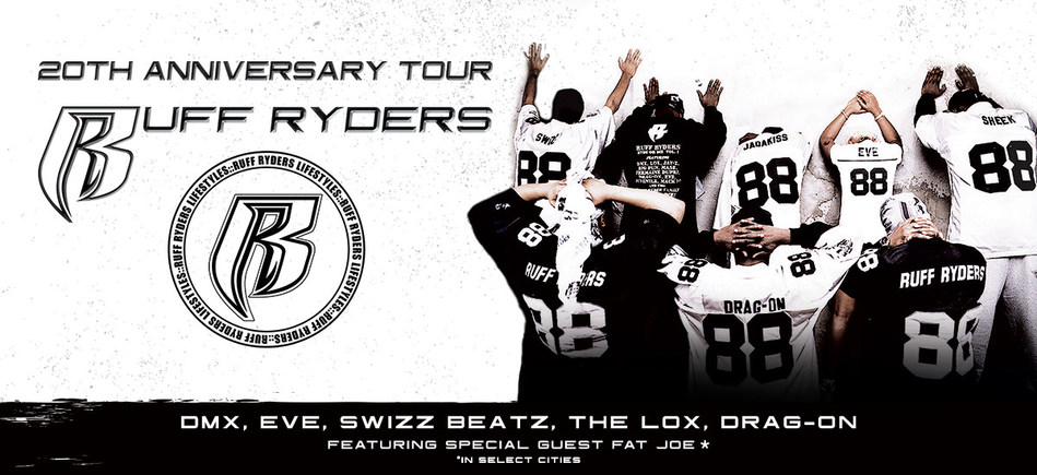 Ruff Ryders Celebrates 20th Anniversary With U.S. Tour