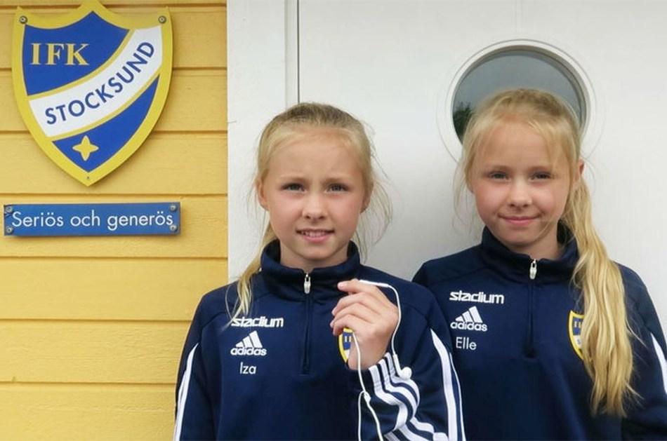 Iza & Elle - Interview (PRNewsfoto/IFK Stocksund and  Iza & Elle)