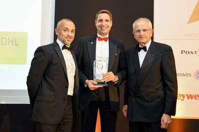 DHL eCommerce receives top honors for Cross Border Growth at 2017 World Post & Parcel Awards