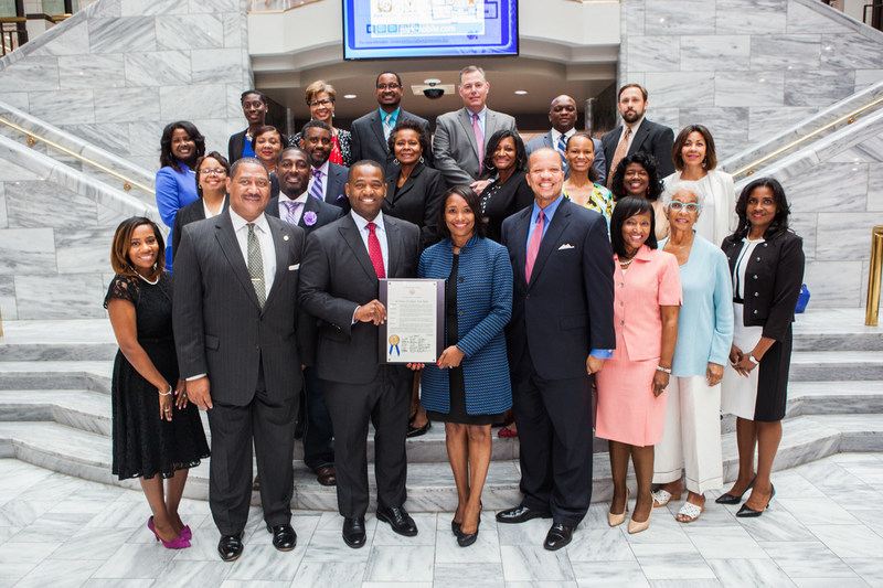 Cynthia N. Day, President & CEO Citizens Trust Bank Receives Proclamation from The City of Atlanta
