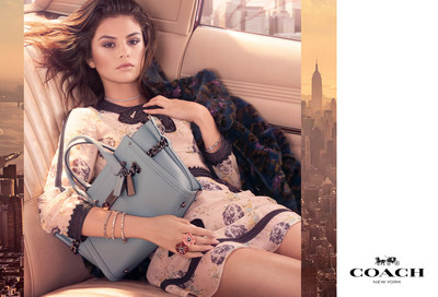 Selena Gomez Is An Accessories Queen for Her First Coach Campaign