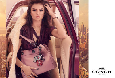 Selena Gomez fronting three short films for Coach campaign