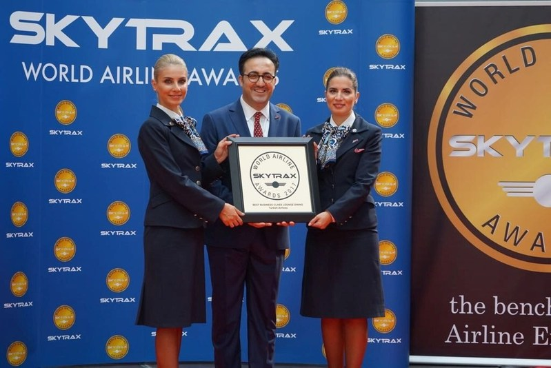 Turkish Airlines picked up four awards in the 2017 Skytrax World Airline Awards. (PRNewsfoto/Turkish Airlines)