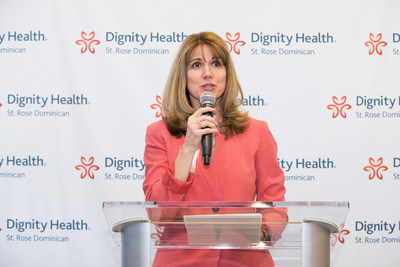 Laura Hennum, Market CEO for Dignity Health-St. Rose Dominican Neighborhood Hospitals, says the new North Las Vegas Campus facility offers the Las Vegas community much-needed, and improved, access to the best in-patient care, primary care and wellness programs available.