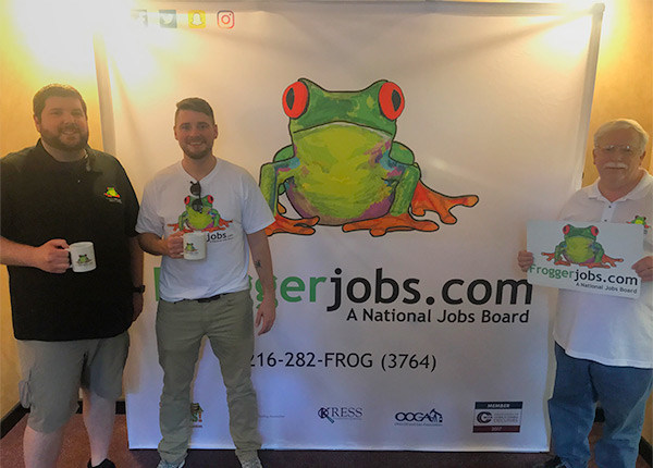 Pictured (right to left): John O'neil- CEO, Jarrett Dowey- VP of Marketing, Mike Miller - VP of Operations. This team has worked tirelessly the past year to make their dream of helping jobseekers and business come true.