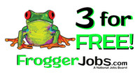 "Enter promo code ""34FREE"" and get 3 FREE job postings!"
