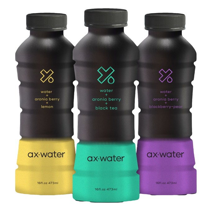 ax-water's aronia berry has 3x more antioxidants than a pomegranate