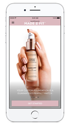 Shiseido Americas announces bareMinerals' first brand to launch Customized by MATCHCo technology with the Introduction of the MADE-2-FIT App for iPhone'
