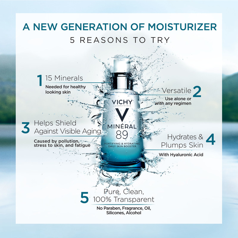 Vichy Launches New Generation of Moisturizer: Mineral 89