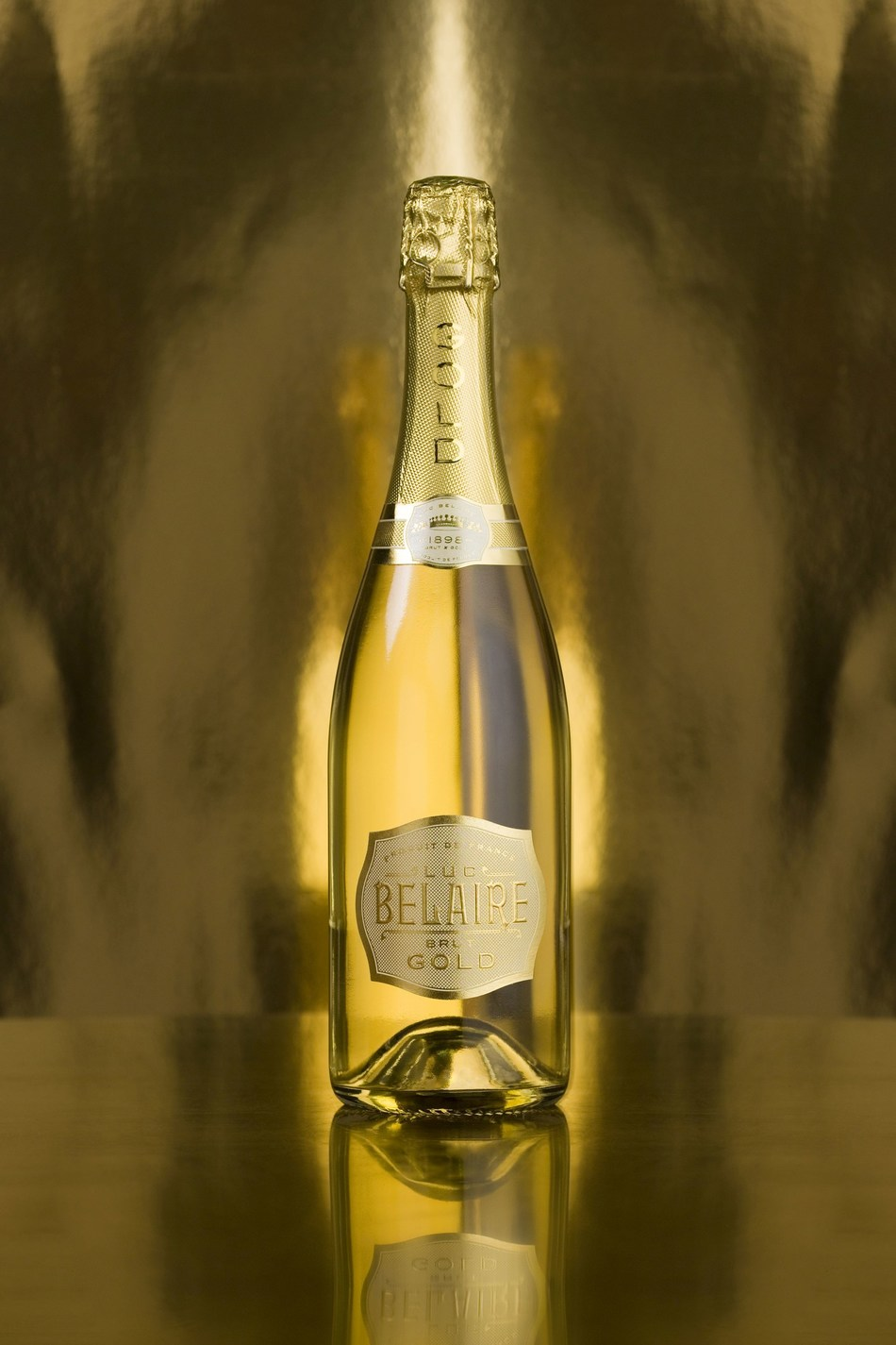 Luc Belaire Gold is a captivating new creation crafted in Burgundy, France from handpicked Chardonnay and Pinot Noir grapes. It joins our exquisite Belaire Rosé and Belaire Luxe as the most exciting brands in the wine world. Like the rest of our award-winning range, Belaire Gold is made at our maison in Montagny-les Beaune, established in 1898 in one of the world's most historic winemaking regions. The Luc Belaire range is sold in more than 100 countries worldwide. (PRNewsfoto/Luc Belaire)