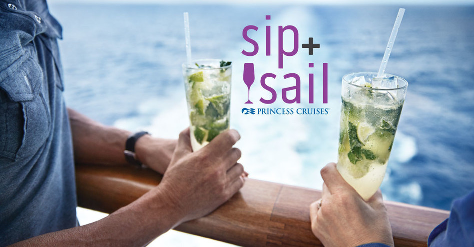 Princess Cruises Announces Thirst-Quenching Sip & Sail Cruise Promotion