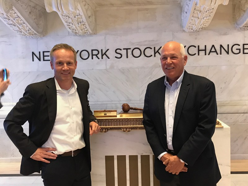 Marc Bitzer, COO and Jeff Fettig, CEO of Whirlpool Corporation