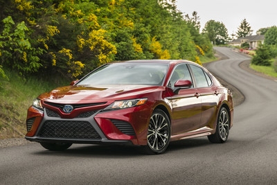 The all-new 2018 Camry Hybrid is available in three grades, LE, SE, and XLE.